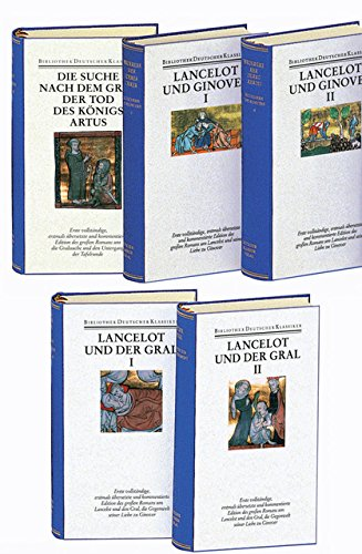 9783618661337: Prosalancelot I-V. 3 in 5 Bänden (komplett)