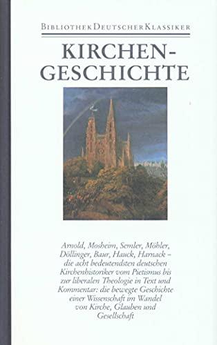 9783618668206: Kirchengeschichte: Deutsche Texte 1699 - 1927: Bd. 22