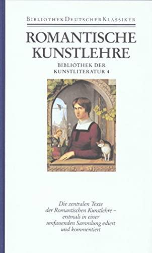 Bibliothek der Kunstliteratur in vier Bänden: Friedmar Apel