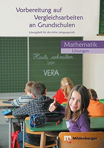 9783619035199: Vorbereitung auf Vergleichsarbeiten an Grundschulen: Lösungsheft