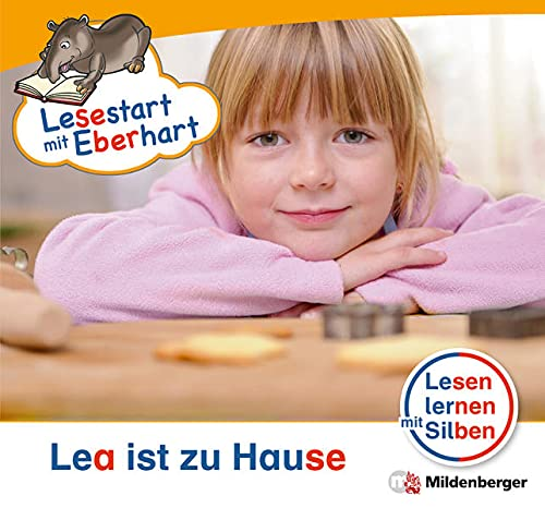9783619044276: Lesestart mit Eberhart - Lesestufe 1 Lea ist zu Hause