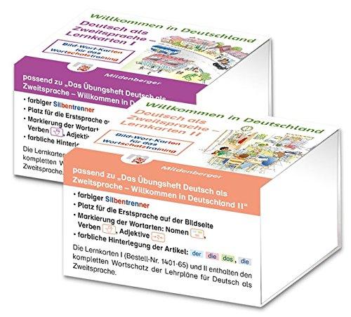 9783619141678: Willkommen in Deutschland - Lernkarten Deutsch als Zweitsprache I und II