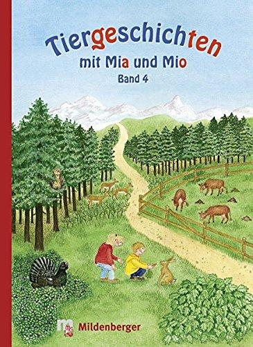 9783619142439: Tiergeschichten mit Mia und Mio 4