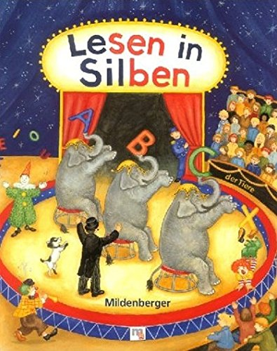 9783619142903: ABC der Tiere. Lesen in Silben. Leselehrgang in Druckschrift. (Lernmaterialien)
