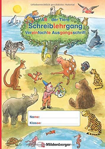 ABC der Tiere - Schreiblehrgang VA in: Kerstin Mrowka-Nienstedt