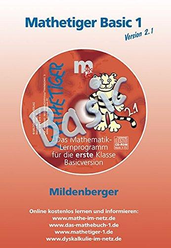 9783619153152: Mathetiger Basic 1 Version 2.0. CD-ROM. Bayern: 6 ?bungen aus der CD-ROM Mathetiger 1/2 Homeversion. 1. Schuljahr ( NM)( SB)