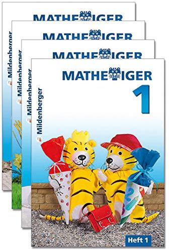 9783619155200: Mathetiger 1 - Heft 1 - 4