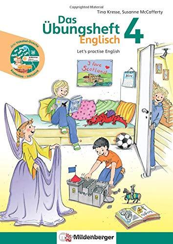 9783619194384: Übungsheft Englisch 4: Let's practice English - 3. und 4. Schuljahr