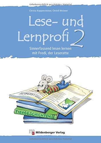 9783619246205: Lese- u.Lernprofi 2: Sinnerfassend lesen Lernen mit Fredi der Leseratte, Arbeitsheft