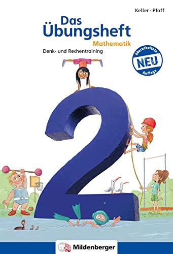 9783619254545: Das Übungsheft Mathematik 2: Denk- und Rechentraining. Mit Lösungsheft (20 S.), Stickerbogen und Jubiläums-Audio-CD