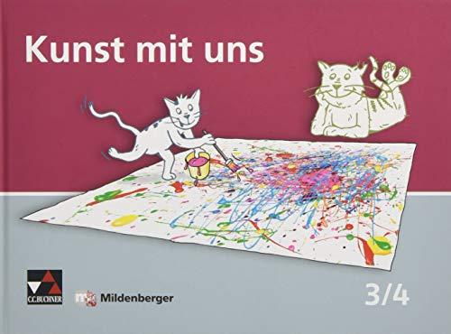9783619362103: Kunst mit uns - Schülerband 3/4: Unterrichtswerk für Kunst in der Grundschule