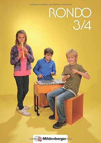 9783619372805: RONDO 3/4 - Sch�lerbuch - Neuausgabe: Doppelband - Musiklehrgang f�r die Grundschule