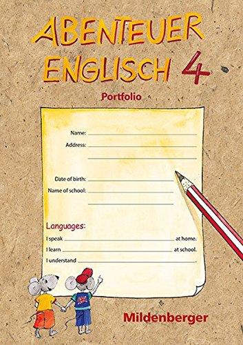 9783619491322: Abenteuer Englisch 4: Abenteuer Englisch 4. Portfolio-Ordner mit Lernzielkontrolle (Livre en allemand)