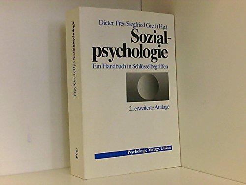 9783621270038: Sozialpsychologie. Ein Handbuch in Schlüsselbegriffen