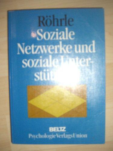 9783621271929: Soziale Netzwerke und soziale Unterstützung (German Edition)