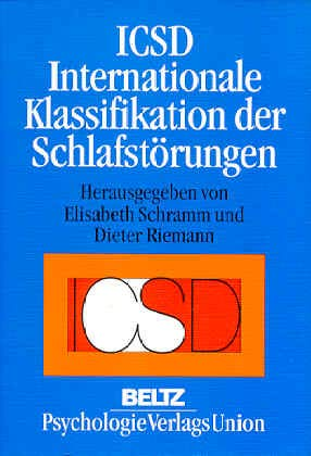9783621272827: ICSD Internationale Klassifikation der Schlafst�rungen