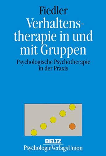 9783621273343: Verhaltenstherapie in und mit Gruppen
