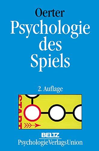 9783621273770: Psychologie des Spiels