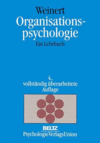 9783621274098: Organisationspsychologie. Ein Lehrbuch