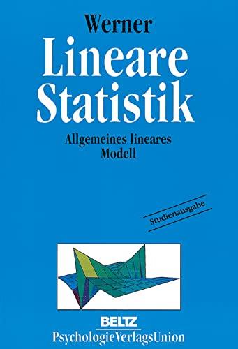 9783621275095: Lineare Statistik