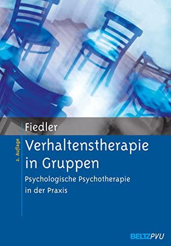Verhaltenstherapie in Gruppen: Peter Fiedler