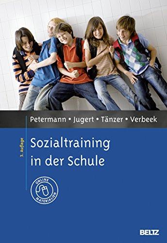 Sozialtraining in der Schule: Franz Petermann