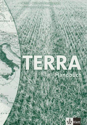 TERRA WZG. Handbuch 4. 8. Klasse. Baden-Württemberg (9783623238494) by [???]