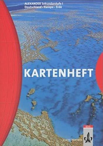 9783623496016: Alexander Kartenheft. Für die Sekundarstufe I. Deutschland, Europa, Erde. (Lernmaterialien)