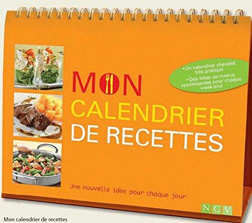 9783625001515: Mon calendrier de recettes : Une nouvelle idée pour chaque jour