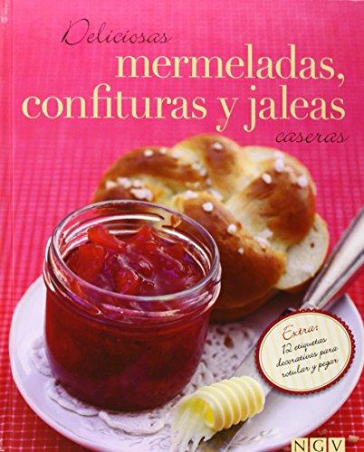 9783625002109: DELICIOSAS MERMELADAS, CONFITURAS Y JALEAS CASERAS (CON ETIQUETAS ADHESIVAS)