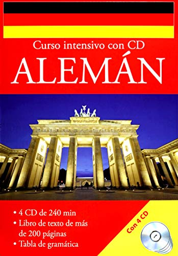 9783625002482: CURSO INTESIVO ALEMAN (INCLUYE 4 CD)
