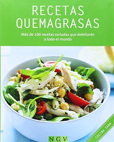 9783625002925: RECETAS QUEMAGRASAS (COCINA SALUDABLE): MAS DE 120 RECETAS VARIADAS PARA TODOS LOS DIAS