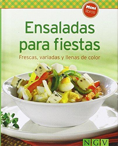 9783625005582: Ensaladas para fiestas: Frescas, variadas y llenas de color