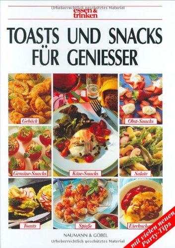 9783625108771: Toasts und Snacks f�r Genie�er