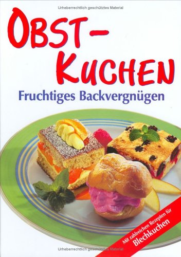 9783625114840: Obst-Kuchen