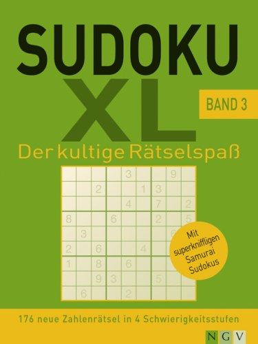 9783625115366: Sudoku XL. Band 3: 176 neue Zahlenrätsel in 4 Schwierigkeitsstufen