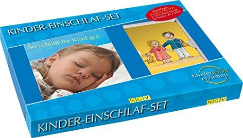 9783625123705: Kinder-Einschlaf-Set: So schläft Ihr Kind gut. Box mit Buch + 50 Vorlesekarten