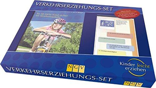 9783625123729: Verkehrserziehungs-Set: So ist mein Kind sicher im Straßenverkehr. Box mit Buch + 50 Übungskarten