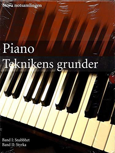 9783625125358: Klavier - Die Grundlagen der Technik 2 Bände (Schnelligkeit+Kraft)