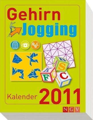 9783625128687: Gehirnjogging-Kalender 2011: Logikrätsel, Bilderrätsel, mathematische Denkspiele und vielles mehr
