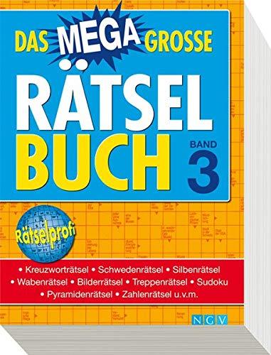 9783625131366: Das megagroße Rätselbuch Band 3