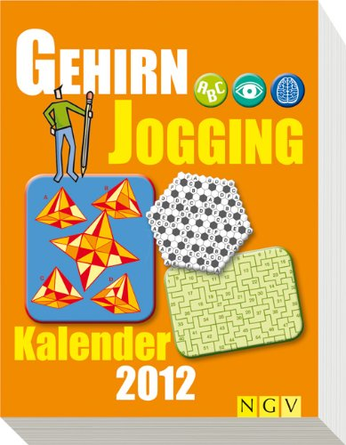 9783625131830: Gehirnjogging-Kalender 2012