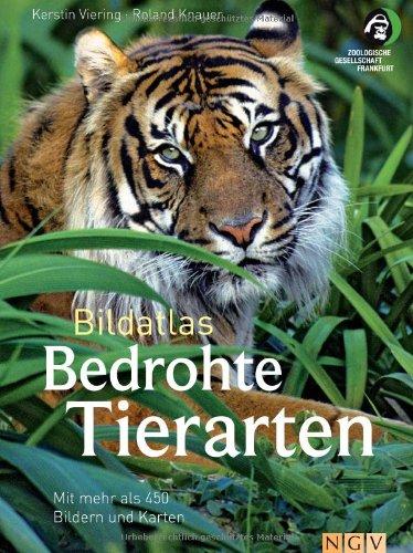 9783625133599: Bildatlas Bedrohte Tierarten