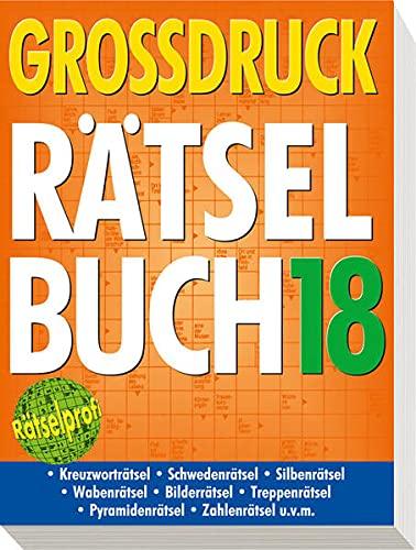 9783625134558: Großdruck-Rätselbuch 18