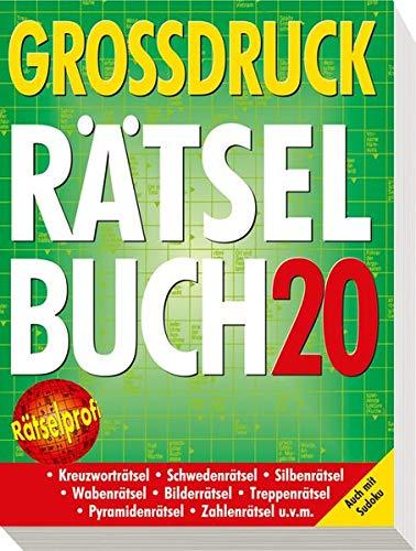 9783625135470: Großdruck-Rätselbuch 20: Auch mit Sudoku