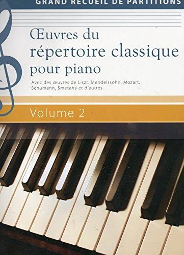 9783625138181: Oeuvres du répertoire classique pour piano Volume 2 - Grand recueil de partitions