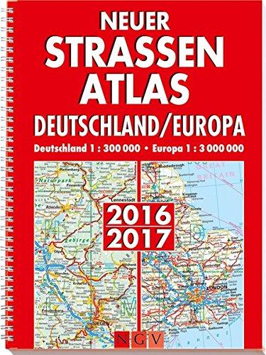9783625140641: Neuer Straßenatlas Deutschland/Europa 2016/2017
