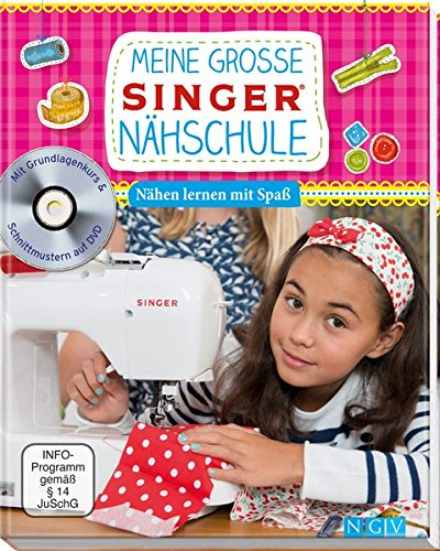 9783625170662: Meine große SINGER Nähschule (mit DVD)