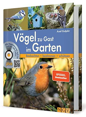 9783625173205: Vögel zu Gast im Garten: Alle Vogelstimmen auf CD und per QR-Code. Beobachten - bestimmen - schützen