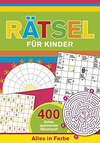 9783625173335: R�tsel f�r Kinder: 400 Seiten spannender R�tselspa� - Alles in Farbe
